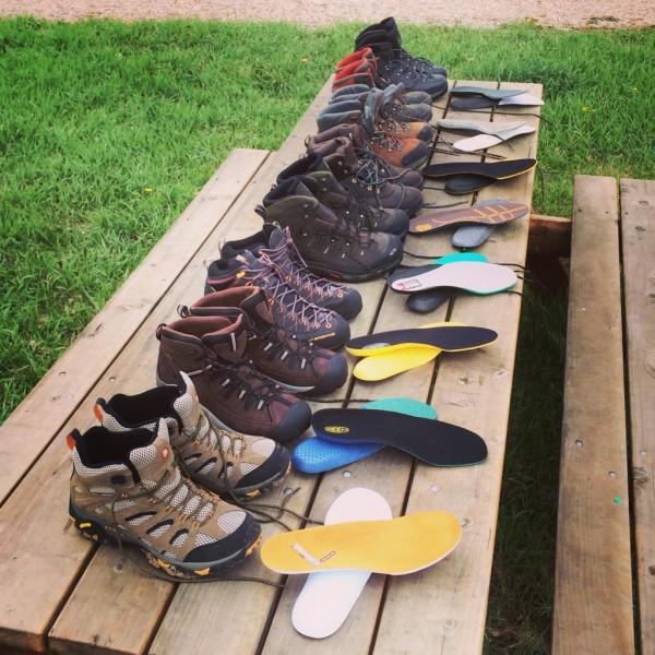Прочная обувь для треккинга