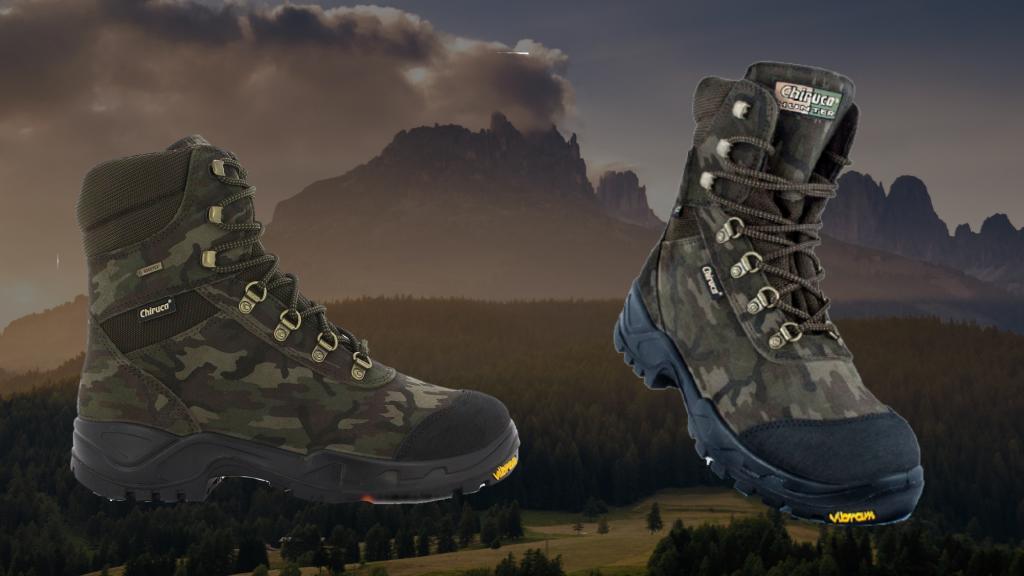 Надежные ботинки Чирука для охоты