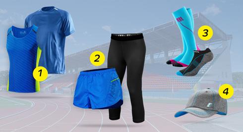 Летний комплект одежды для бега