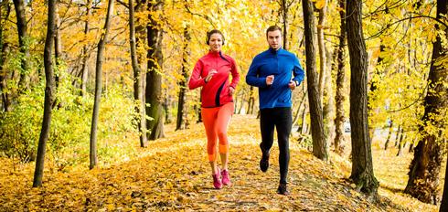 Одежда для бега весной и осенью